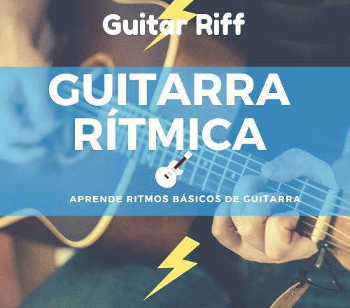 Aprende diferentes ritmos de guitarra y aplícalos a tu música